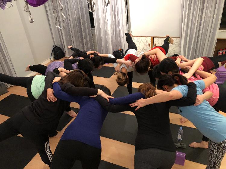墊上瑜珈團體班
