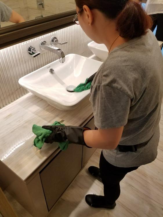 Restroom Cleansing