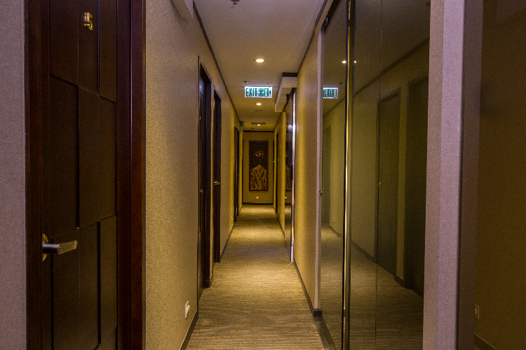 我們設有獨立房間,環境舒適休閒