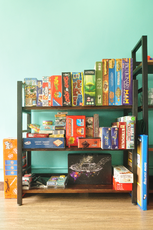 大量棋類、卡牌及派對遊戲