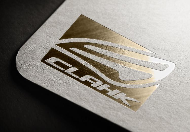 為香港CLAHK 車會設計 logo,設計理念來自於該車款的特有尾燈設計。讓愛車之人一眼就能聯想起。