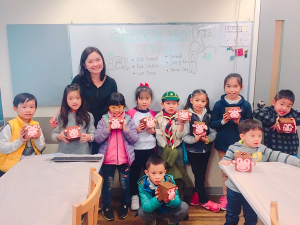 Kids class - Chinese New Year money box art class