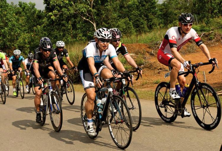 Tour of Bintan bike race.