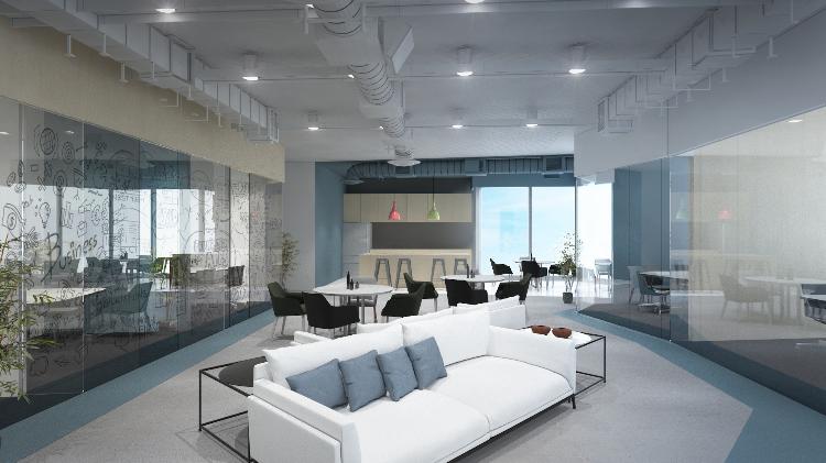 辦公室共用空間設計 (部分)