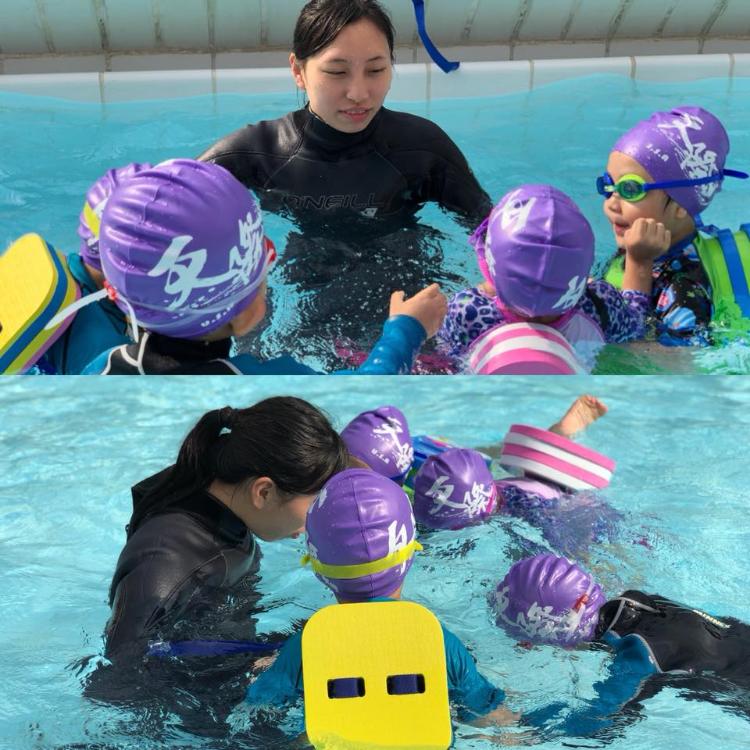 iSplash泳會設有女教練,切合不同學員的需要