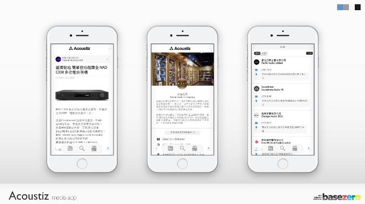 Acoustiz-新聞資訊與網店手機應用