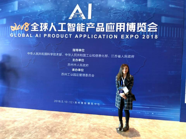 獲邀到蘇州人工智能博覽會, 為香港客戶引入不同智慧型辦公室和智能家具技術