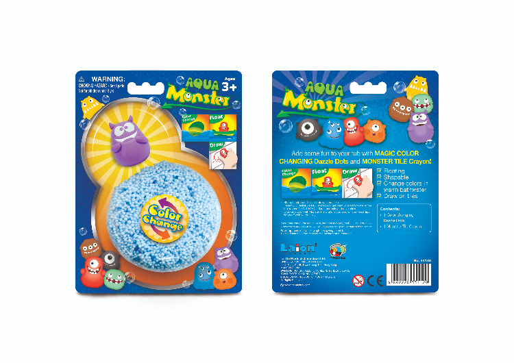 Packaging design of toy