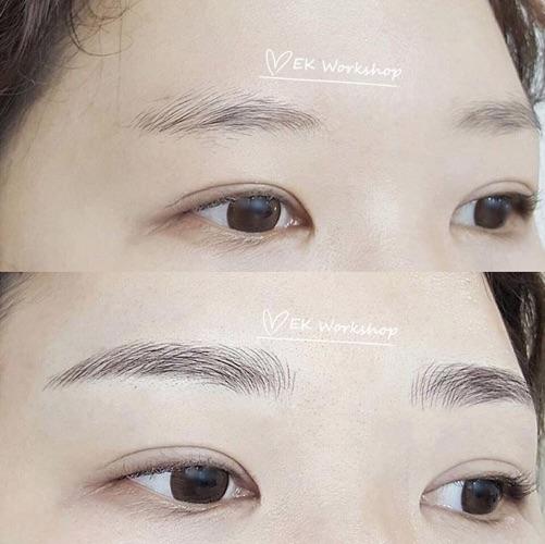 半永久飄眉 ✧ 優惠價HK$1800 (附送護理修復包及六個月內補色1次)