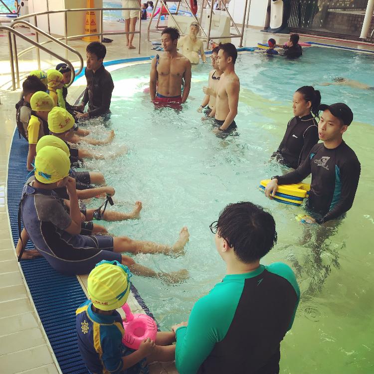 何文田兒童游泳班