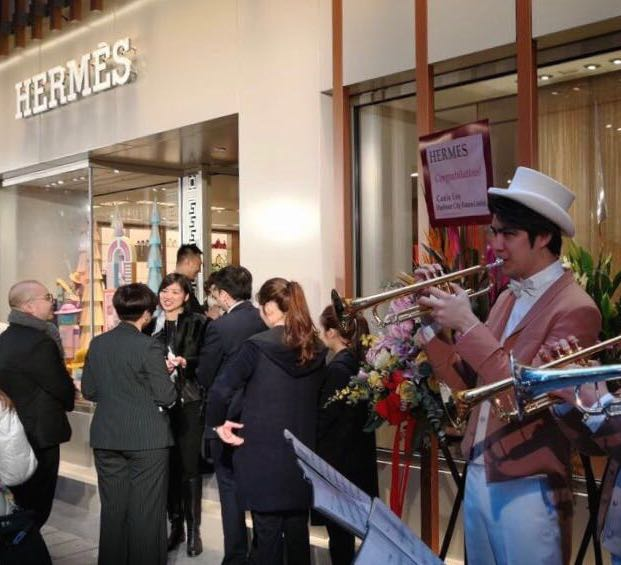 HERMES OPENING EVENT