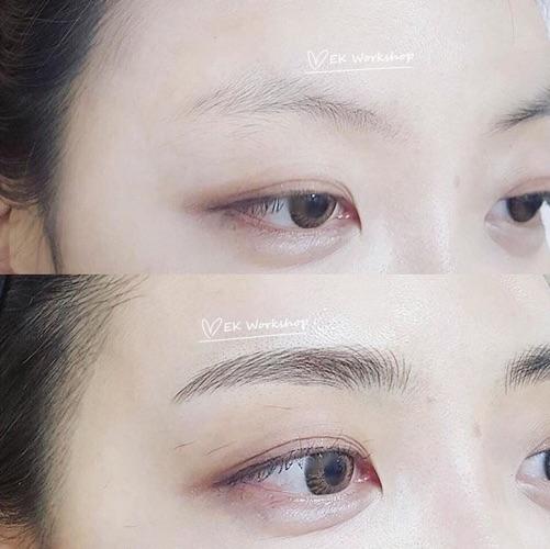 半永久飄眉✧ 優惠價HK$1800 (附送護理修復包及六個月內補色1次)