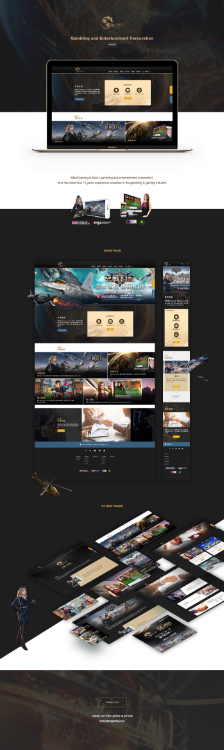Gambling and Entertainment Website