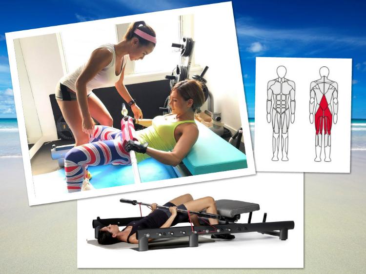 引入全港獨有風摩歐洲同日本嘅臀肌訓練儀器Glute Builder亦係市場上第一部多功能臀肌訓練儀器