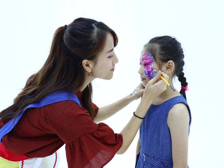 face painting service for kids